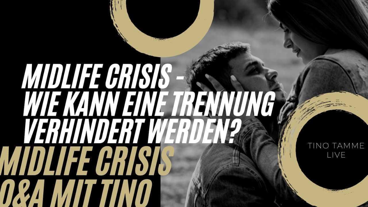 Midlife Crisis Mann verlässt plötzlich die Familie - Was tun?